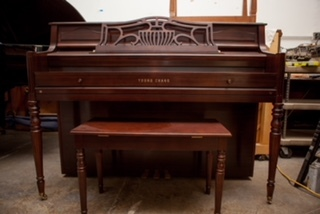 "Young Chang 40"" Console Piano"
